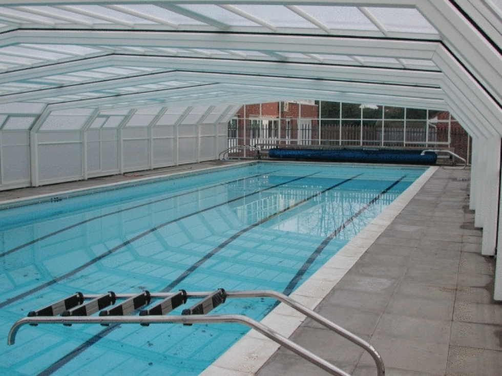 School swimming pool servicing showcase london swimming pool company london uk for Rogers high school swimming pool