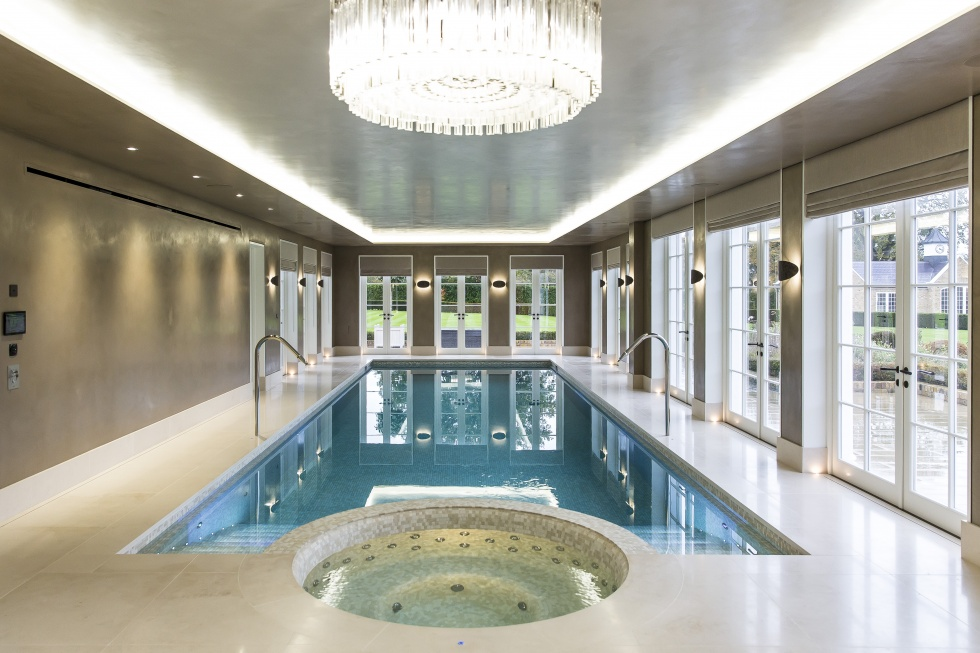 Indoor swimming pool servicing showcase london swimming for Pool design company polen