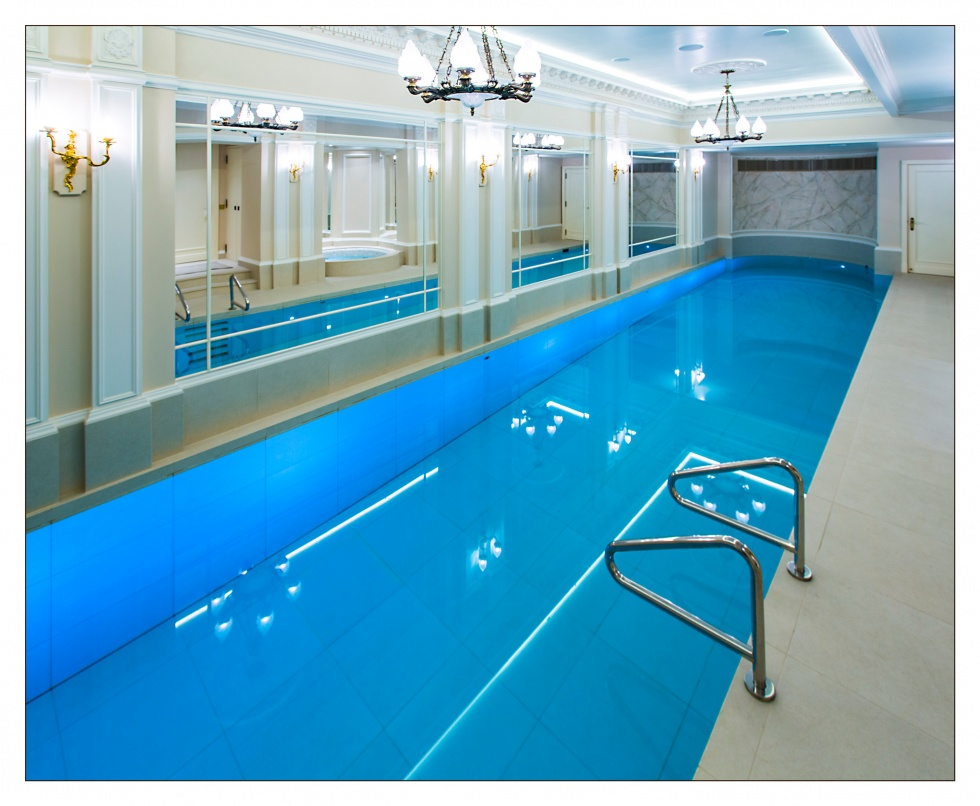 Swimming pool construction and design moving floors for Pool design london