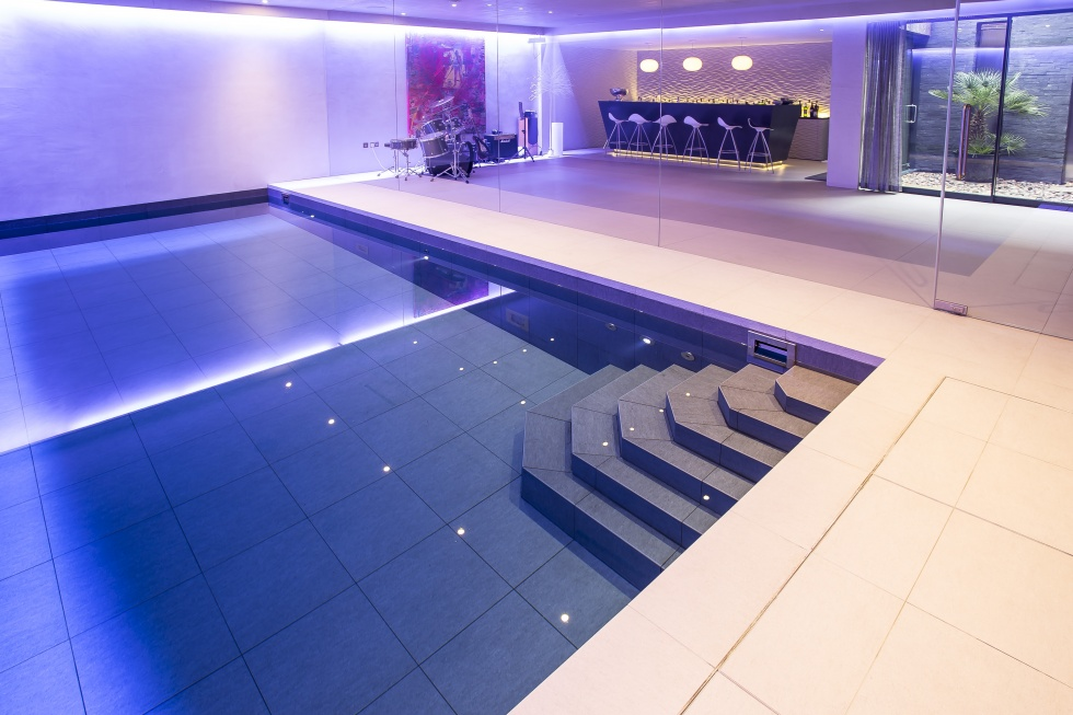 Indoor swimming pool design showcase lspc for Swimming pool surrounds design